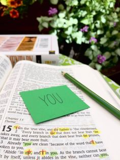 Thirty Days in John 15, Day 4: You   The Doorposts Blog