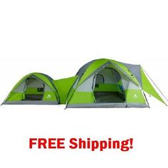Tent 8 Person 2 Dome Camping Hiking  Outdoor Family Cabin Hunting Campers