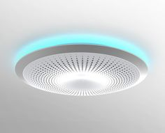 Halo Smoke Detector - Halo is a smart smoke detector that warns you of smoke, fire, & CO2 levels, plus it provides alerts for natural disaster warnings like earthquakes & tornadoes – even when the internet & TV are out.