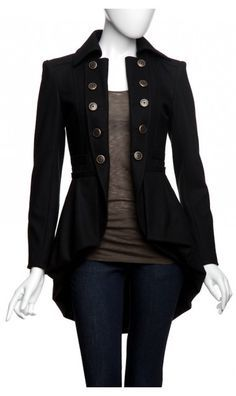 Nanette Lepore Sherlock Coat - Love it! Cool Outfits, Fashion Outfits, Womens Fashion, Fashion Coat, Fashion Kids, Style Fashion, Sherlock Coat, Mode Inspiration, Mode Style