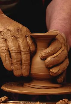 I'd love to do pottery one day...who knows? Maybe I will get a chance in the next year or two.