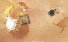"Kim Min Ji, ""Peter Pan"" illustration"