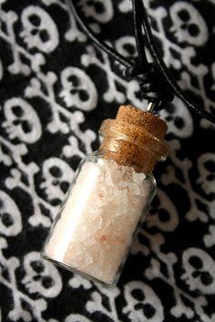 DIY Salt Protection Pendants/Amulets Tutorial