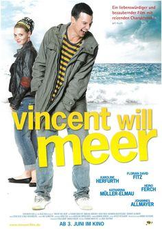 VINCENT WILL MEER - 2010 - DRAMA - KAROLINE HERFURTH - FILMPOSTER A4