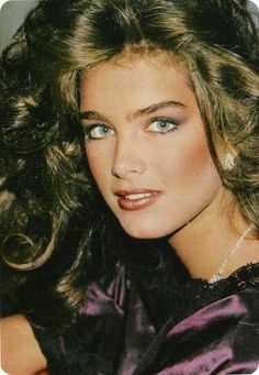 Brooke Shields- I drew a picture of this when I was 12yrs old, and I have it to this day! :)