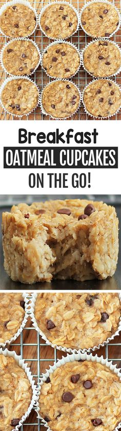 Breakfast Oatmeal Cupcakes Cook just once and you get a delicious breakfast for the entire month! Breakfast Oatmeal Cupcakes Cook just once and you get a delicious breakfast for the entire month! Healthy Oatmeal Breakfast, Breakfast Bake, Breakfast Dishes, Breakfast Recipes, Breakfast Cupcakes, Balanced Breakfast, Nutritious Breakfast, Breakfast Muffins, Breakfast Ideas