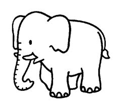 Elephant color page, animal coloring pages, color plate, coloring sheet,printable coloring picture Make your world more colorful with free printable coloring pages from italks. Our free coloring pages for adults and kids. Preschool Coloring Pages, Easy Coloring Pages, Free Printable Coloring Pages, Coloring Books, Coloring Sheets For Kids, Kids Coloring, Adult Coloring, Elephant Template, Elmer The Elephants