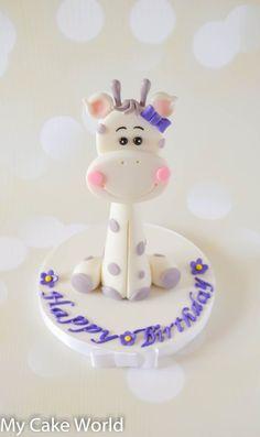 Giraffe Cake Topper baby shower cake topper baby giraffe
