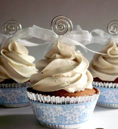 Ok, I've been getting a lot of emails about my faux cupcakes. I've been always asked what is my secret recipe. Fake Cupcakes, Fake Cake, Baking Cupcakes, Cupcake Candle, Paper Cupcake, Cupcake Cakes, Candy Recipes, Cupcake Recipes, Diy Whipped Cream