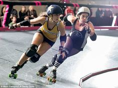 Meet the Derby Dolls, a roller skating team where bruises and ...