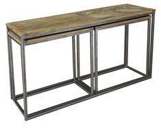Nesting Console Tables Set Of 3 , Sarreid Ltd