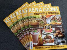 """No se pierdan nuestras recetas de: """"Tapas y Sandwiches"""" y """"Desayunos con Tradición"""" en el número de febrero de KENA edición Cocina, Les van a encantar!"""