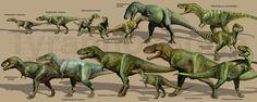 Paleoart :: tyrannosauria image by atrox1_dinoart - Photobucket