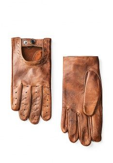 Перчатки Mango Man, цвет: коричневый. Артикул: HE002DMCVW29. Mango Man
