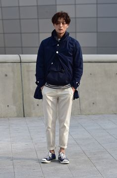 Street style: Seo Kyeong Deok shot by Baek Sung Won at Seoul Fashion Week Fall 2015