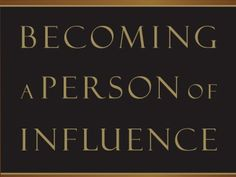 Becoming a Person of Influence is a foundational program for anyone who aspires to grow as a leader. The program spells out ten fundamental qualities that define influencers. A person's influence does not develop overnight, but rather through a progression of four stages: modeling, motivating, mentoring, and multiplying. Influence can be acquired, but it only grows in increments.