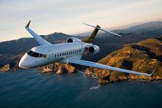 A Líder Aviação oferece jatos da Bombardier, como o Global 8000 (Bombardier)