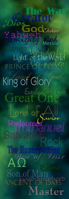 Our great God...