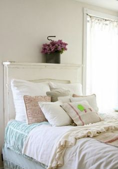 Kwiaty w sypialni