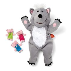 The Big Bad Wolf... not only for the Three Little Pig story