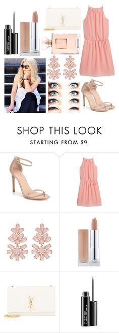 """""""Clara Little Outfit 4"""" by some-harry-potter-freak on Polyvore featuring Stuart Weitzman, MANGO, Yves Saint Laurent and MAC Cosmetics"""