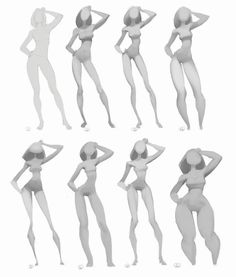 Some kind of development of the previous exercise(I took a realistic gesture drawing and tried to apply different proportions and styles),… Drawing Hair, Body Drawing, Anatomy Drawing, Drawing Tips, Contour Drawings, Gesture Drawing Poses, Drawing Faces, Drawing Tutorials, Art Drawings