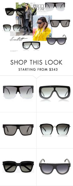 """""""frames"""" by mathildestaber on Polyvore featuring Victoria Beckham and Yves Saint Laurent"""