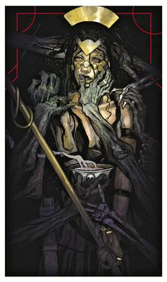 Tarot card for Sidony: The Necromancer - Dragon Age: Inquisition