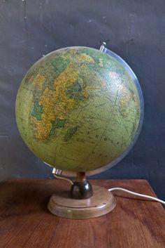 Round Earth, Globes, Beautiful, Globe, World Globes