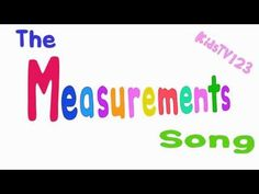 The Measurements Song - YouTube