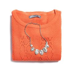 """stitchfix: """"A cozy knit gets a chic upgrade with the addition of a little sparkle. Visit our blog to learn more about accessorizing your winter knits with a statement necklace! (link in profile)"""""""