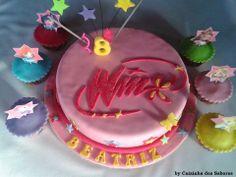 Bolo de aniversário da Beatriz - Winks