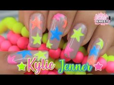 Want some ideas for wedding nail polish designs? This article is a collection of our favorite nail polish designs for your special day. Read for inspiration Zebra Nail Designs, Star Nail Designs, Gradient Nail Design, Orange Nail Designs, Nail Polish Designs, Neon Orange Nails, Neon Nails, Pink Nails, Nail Art Stripes