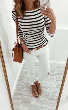 Pretty summer outfits for copying - Kleidung für Frauen - Cute Outfits Summer Work Outfits, Casual Work Outfits, Work Casual, Spring Outfits, Cute Outfits, Casual Summer Outfits For Work, Summer Clothes For Women, Long Shirt Outfits, Summer Outfits Women Over 30