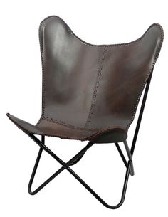 Dorian Leather Accent Chair