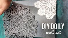 Looking for romantic home decor ideas but don't have an unlimited budget for purchasing fine art or even craft supplies? Lately, I have seen some amazing craft ideas with doilies, mason jar decor, bowls and such. I just love them but was hoping to find some other lacy ideas for my walls, inexpe