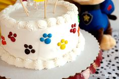 Paw patrol party ideas for a DIY cake