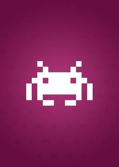 8 best Minimalistic Space Invaders Displate Posters images