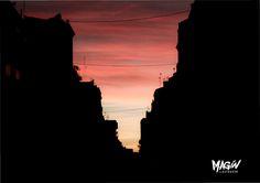 pure street valencia barrio ruzafa #foto #magin #atardecer #valencia #LIGHT