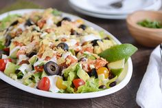 Chicken Taco Salad | Mel's Kitchen Cafe