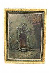 Gemälde MAX STURY München um 1890