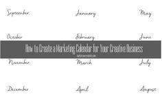 Marketing Calendar sample
