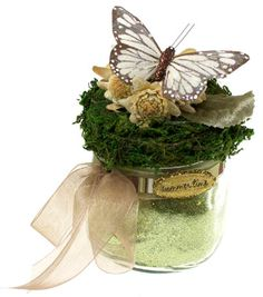 Filling with bath salts for coven's take home #Litha presents. Click for supplies list from Joann