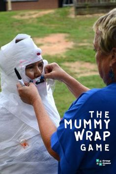 If you've ever planned a kid's birthday party then you will know how important it is to come up with an activity to keep the guests entertained. Learn the rules to play today with this guide.  #games #groupgames #kids #kidsgames #mummywrap #halloween #halloweengames #play #fun #parties #kidsparties Games To Play Outside, Games To Play With Kids, Get To Know You Activities, Group Games, Family Games, Fun Games, Physical Activities, Activities For Kids