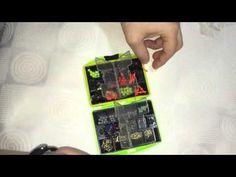 Carp Fishing Tackle Box With Hooks Swivels Fishing Accessories | Dan Unboxing