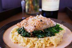 Oatmeal-Crusted Haddock
