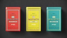 James Italian Biscotti Packaging