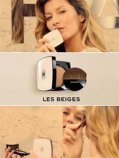Gisele Bündchen voor Chanel Les Beiges