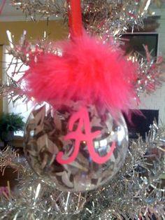 Personalized CUTE ornament!