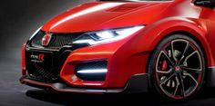 #Honda #Civic #TypeR debuts as concept in Geneva with 280HP, WILD LEDs + Racing Upfit